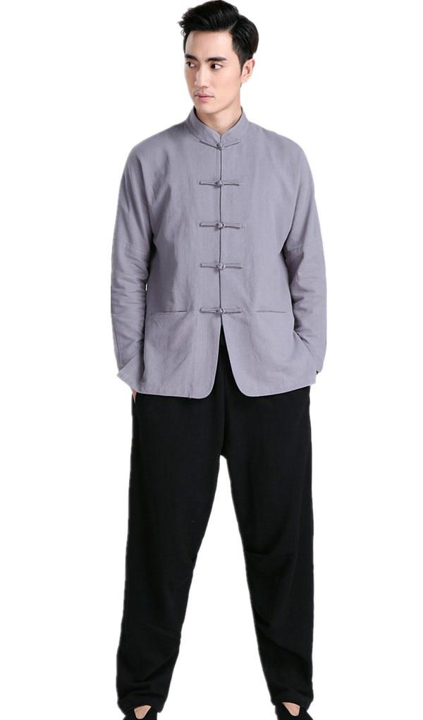 ملابس تاي تشي القطنية الصينية ، قصة شنغهاي ، زي الكونغ فو ، artes marciais wushu ، ملابس hanfu الصينية التقليدية