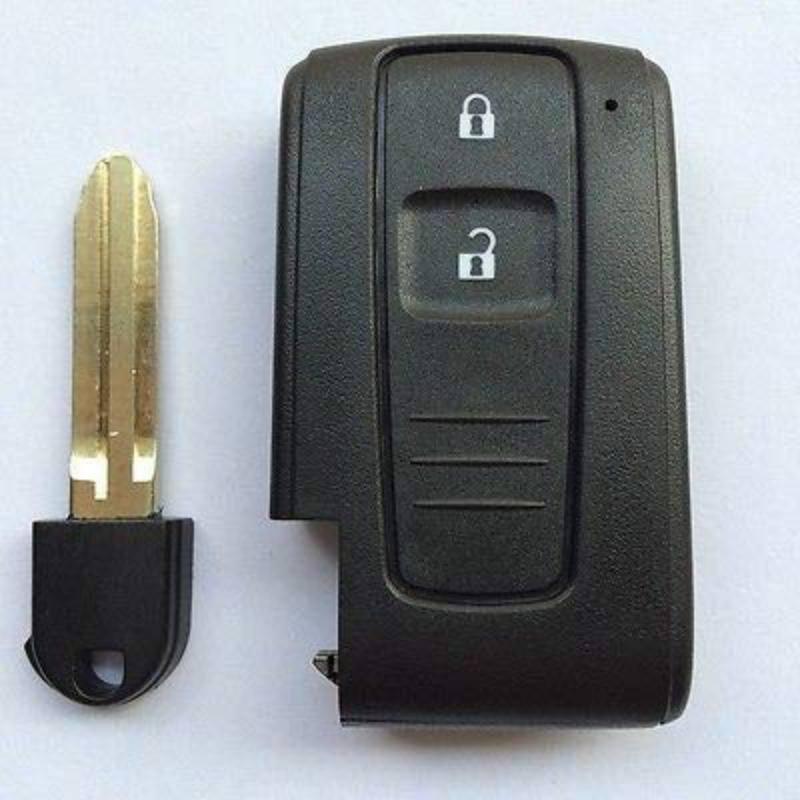 Clave caso 2 clave Prius inteligente Correa dominante pequeño caso clave con ranura de alta calidad y duradero mecánica molde de fundición caliente
