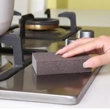 5 pièces éponge gomme coton éponges pour enlever la rouille nettoyage salle de bain cuisine fournitures détartrage propre frotter pot