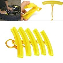 Tyre Wheel Changing Edge Savers Tool Yellow Car Tire Changer Guard Rim Protector 1pc