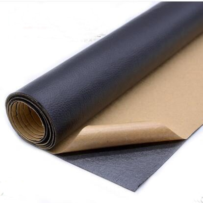 135x50cm PU leather self adhesive fix subsidies simulation skin back since the sticky rubber patch l