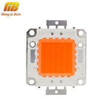 [MingBen] haute puissance LED lumière de croissance spectre complet 380Nm-780Nm 10W 20W 30W 50W intégré matrice Palnt lampe de croissance besoin pilote