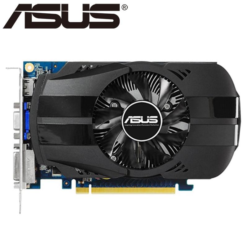Tarjeta de vídeo ASUS Original GT630 2GB 128Bit GDDR3 tarjetas gráficas para nVIDIA VGA tarjetas Geforce GT 630 Hdmi Dvi usado en venta