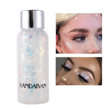 New Eye Glitter Nail Hair Body Face Glitter Gel Art Flash Heart Loose Sequins Cream Festival Glitter