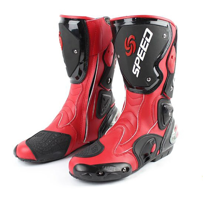 Для Мужчин's мотоботы защитный Casaco Moto кроссовки Скорость гоночный мотоцикл
