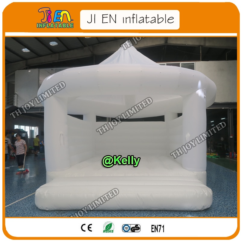 Castillo inflable comercial de 5x4 m/5x5 m para la venta, base de salto de Lona de pvc castillo inflable moonwalk