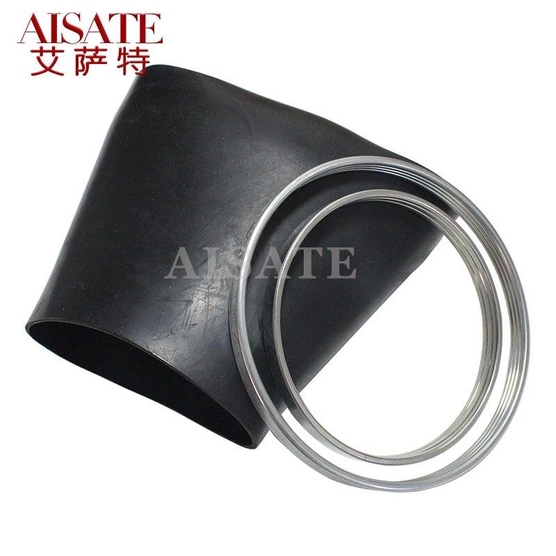 Luva de borracha dianteira para mercedes w220 suspensão a ar borracha bexiga anel de friso amortecedor de ar anel mola 2203202438