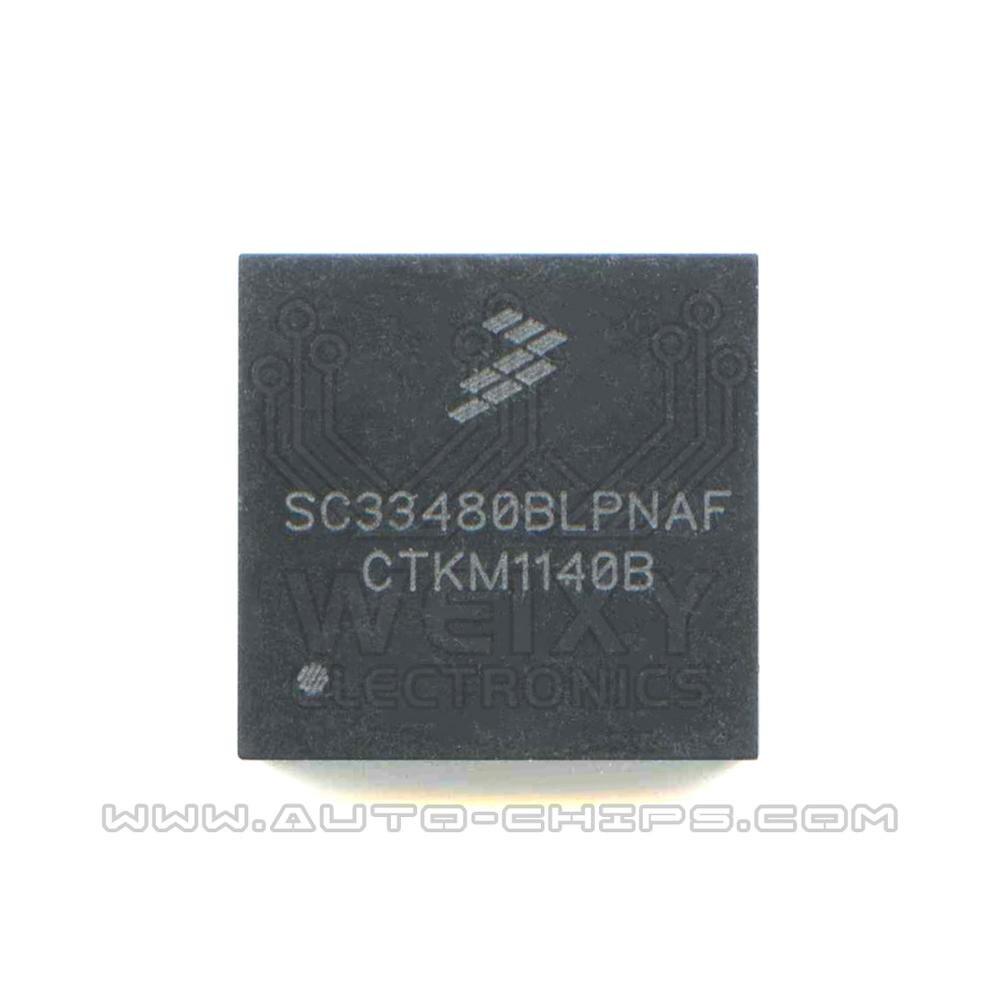 Chip SC33480BLPNAF para uso automotriz