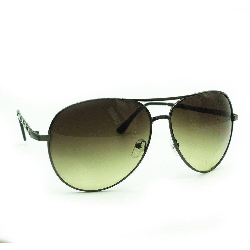 4 Color Classicl Vintage Oversized Pilot Sunglasses Women Men Fashion Brand Designer Metal Frame Mir