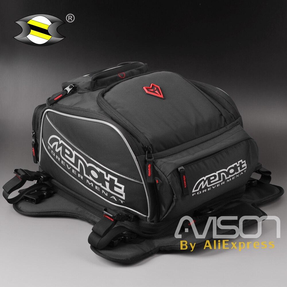 Bolsa de tanque de aceite para motocicleta Mochila De Casco gran capacidad impermeable multiusos GPS navegación teléfono móvil motocicleta Universal
