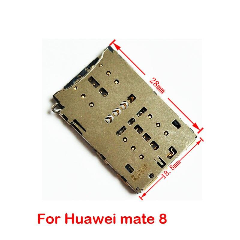 Новый оригинальный держатель для чтения sim-карт, лоток для Huawei Honor 3c 5C Mate 8 Note 8 P6 P7 P8 Y6, запасные части