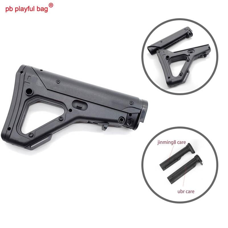 Novelty Outdoor club cs kit tactical accessory Jm8 XM316 engraved edition nylon ubr retractable gel ball gun butt blaster KD7
