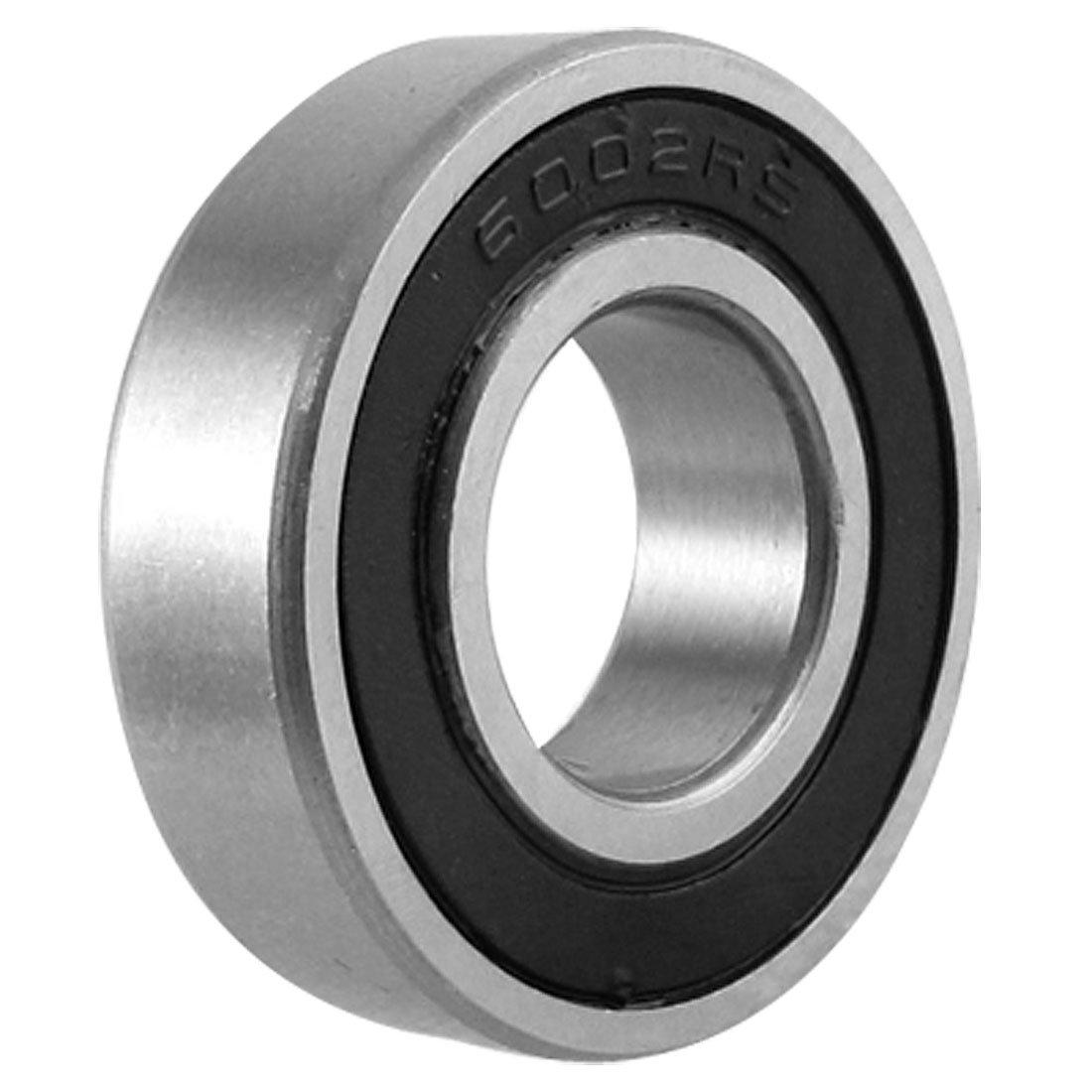 KSOL 15mm x 32mm x 9mm ancho de una sola fila Ranura Profunda sellado Rodamiento de bolas radial 6002RS