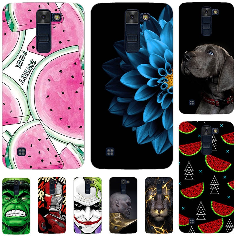 Encantadora funda de teléfono a la moda para LG K8 2016, diseño bonito, pintura para LG K8 2016 Lte K350 K350E K350N K 8 4G para LG Phoenix 2