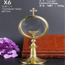 Ostensorium Monstrance reliquary Catholic souvenir gift of exquisite grace Christ jesus jesu Catholicism communion wafer