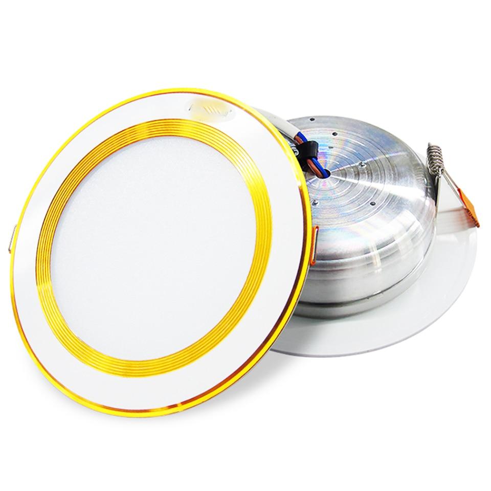 GD 4pcs 5W 10W 15W LED Ceiling Downlight 220V LED Ceiling light Driverless Modern LED Ceiling light AC220V LED Downlight