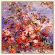 Vente en ligne de Roses de Pierre Auguste   reproduction de Roses à la fenêtre, de haute qualité peinte à la main