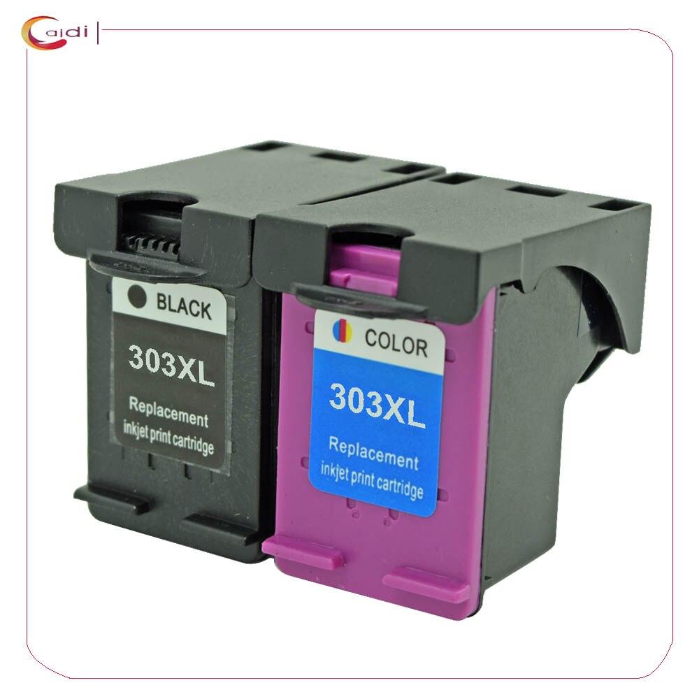 Compatible con 303XL cartuchos de tinta para HP303 303 XL para HP ENVY foto 6020, 6030, 7130, 7134, 7830