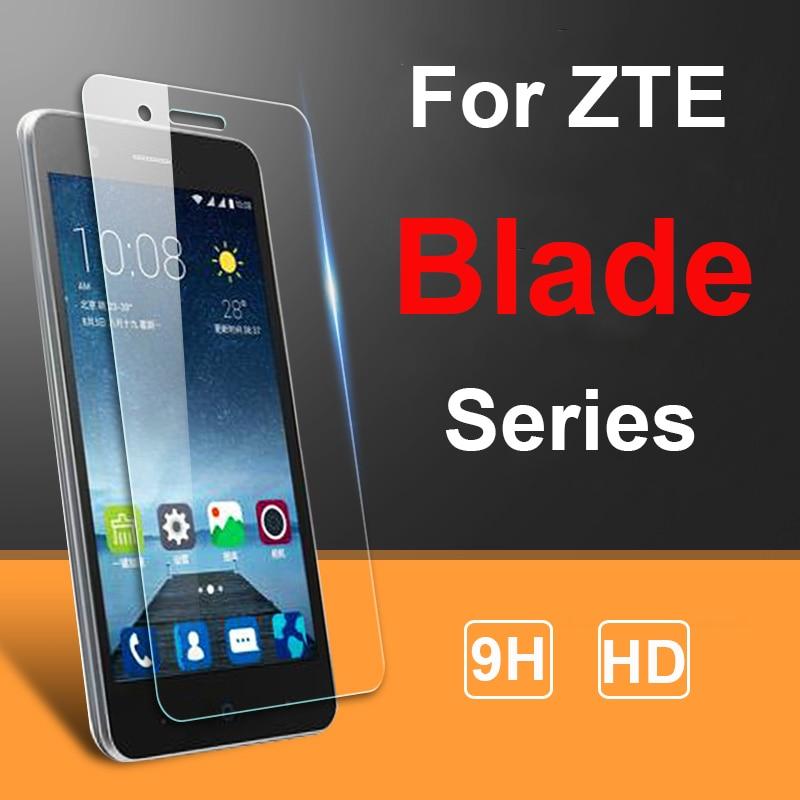 2PCS Screen Protector For ZTE Blade A3 A5 A7 2019 L8 V9 V10 Vita A6 Lite A530 Tempered Glass SmartPh