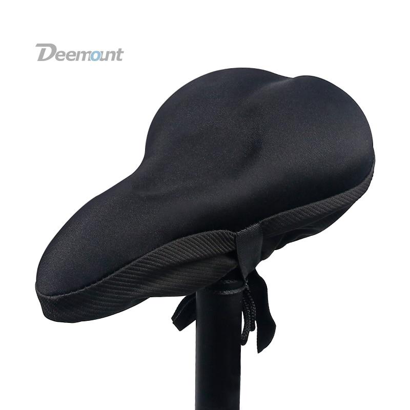 Силиконовая гелевая подушечка Deemount для езды на велосипеде, чехол для седла, Мягкая комфортная подкладочная подушка, матрас для велоспорта, амортизация