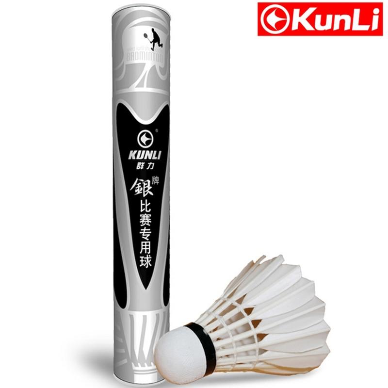 كونلي الريشة الريشة KL-الفضة أعلى درجة Cigu بطة ريشة ريشة ريشة للبطولة المهنية سوبر دائم