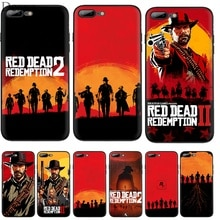 Coque de téléphone portable Desxz Silicone TPU pour iPhone 7 8 6 6s Plus X XS Max XR 5 5s SE couverture cool jeu rouge mort rachat 2 coque