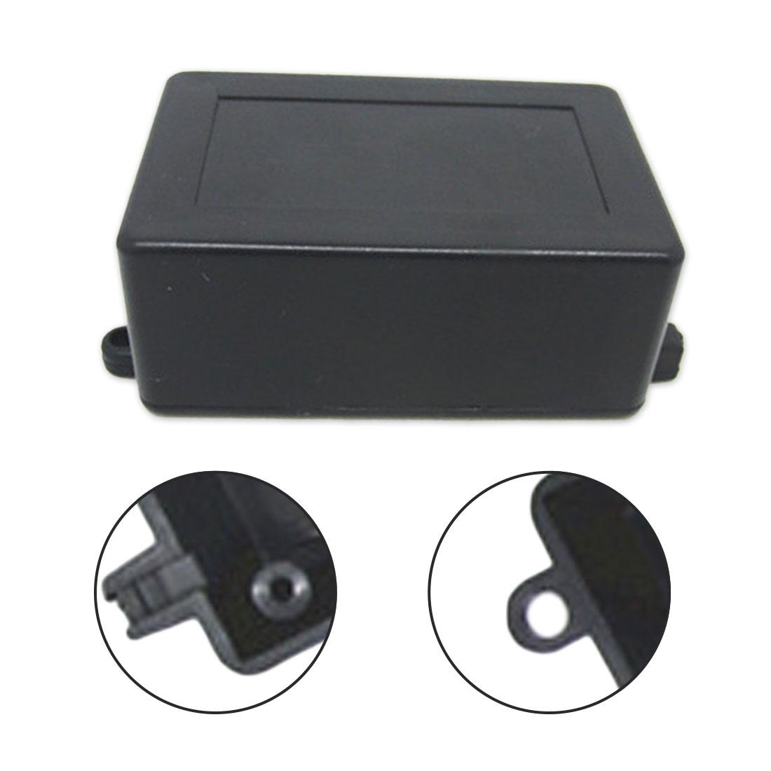 Caja de instrumentos de 70x45x30 MM, conector impermeable de plástico, caja de proyecto electrónica, caja negra
