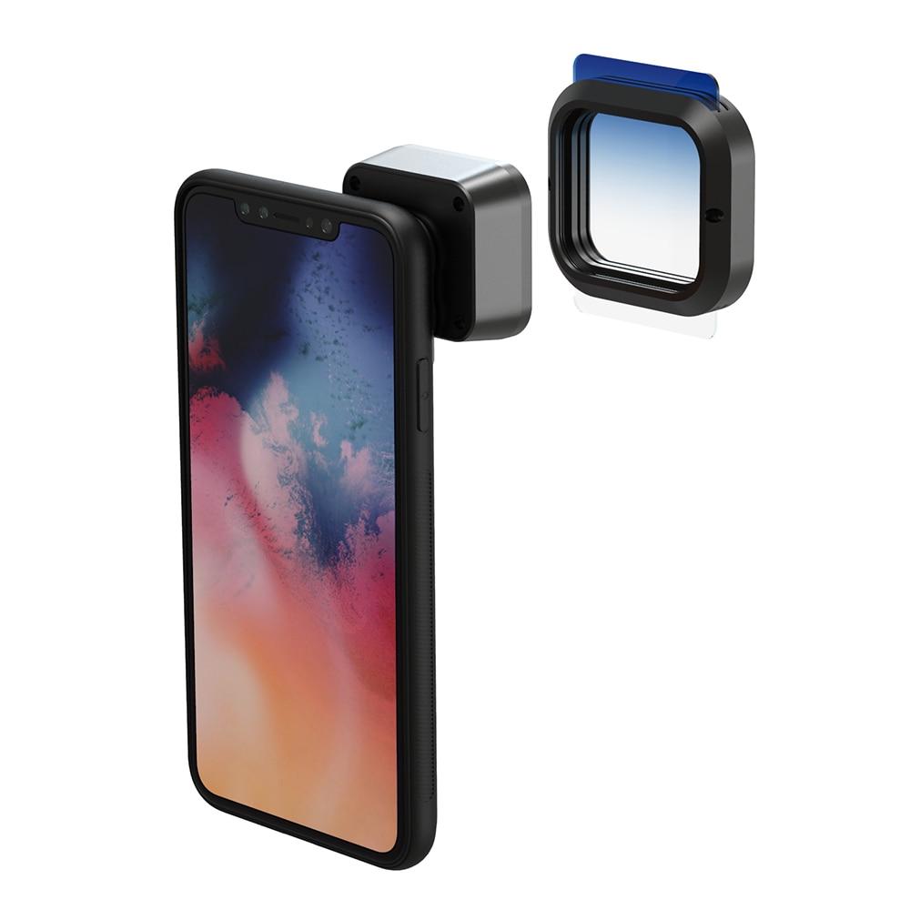 Moveski PRAN 1.3x lente anamórfica cámara de teléfono móvil lente de película de pantalla ancha lente de película de teléfono óptico lente de película para iPhone Android Smartphone