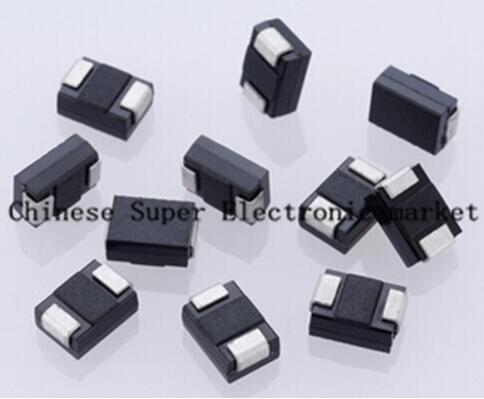 100PCS SS56 SR560 60V 5A SMA SMD Schottky diode DO-214AC