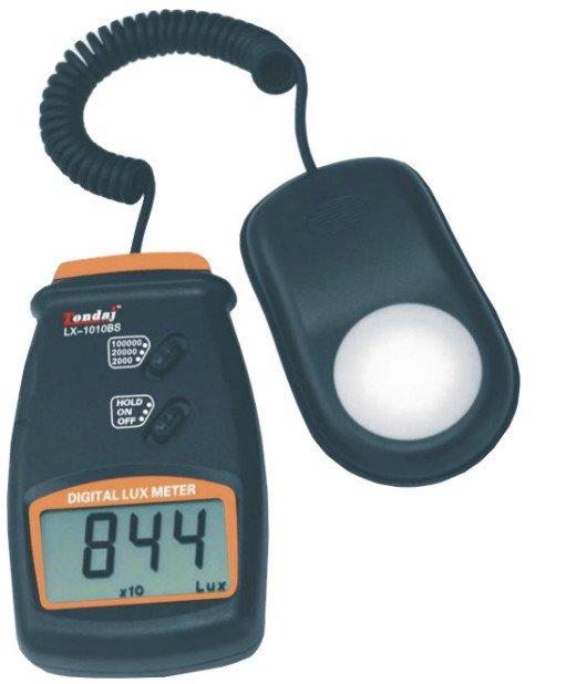 Medidor de luz de crecimiento hidropónico Digital 100.000 Lux