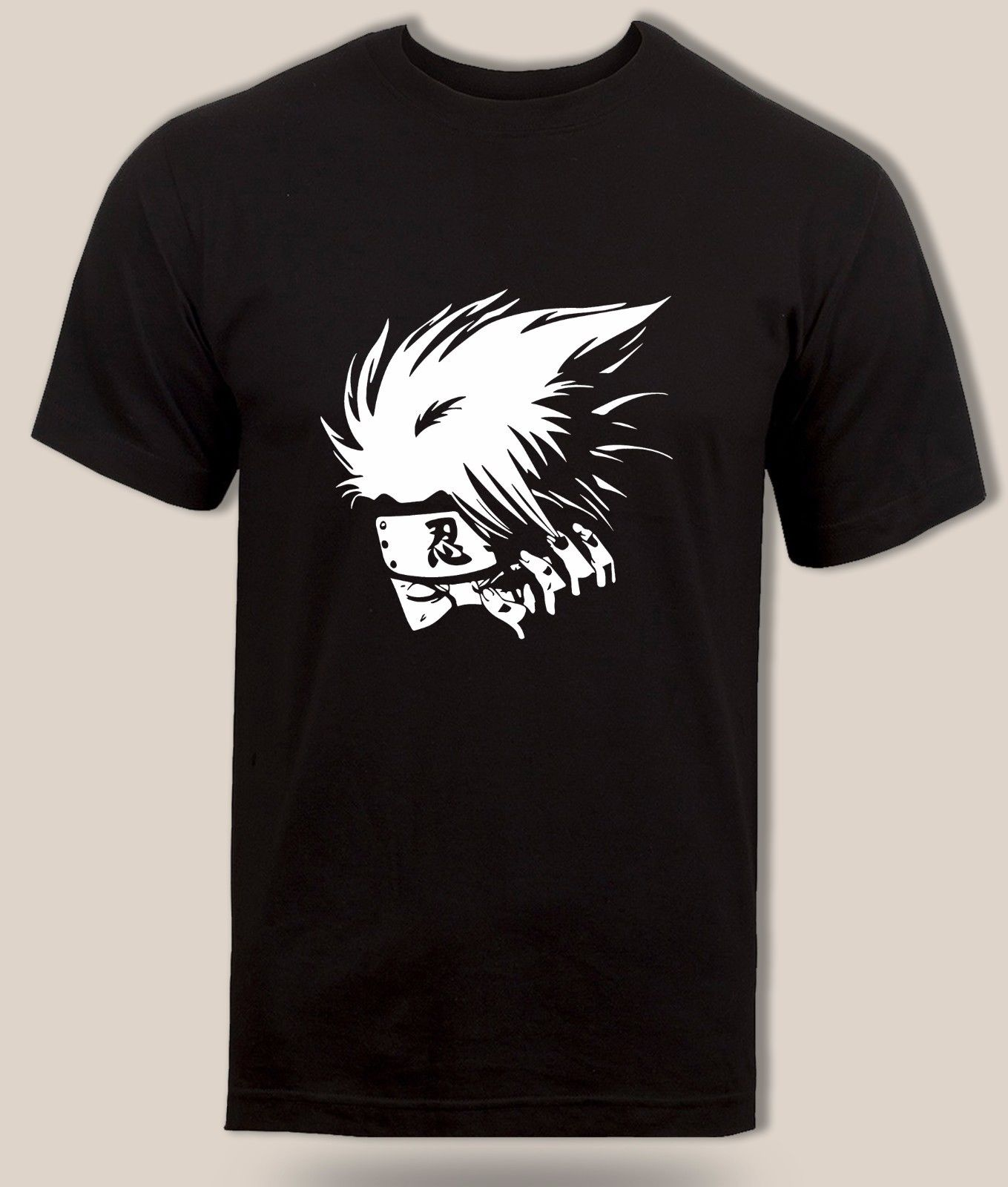 Kakashi hatake sharingan camiseta copia ninja Naruto shinnobi novedad anime envío gratis Harajuku Tops de moda clásicos único