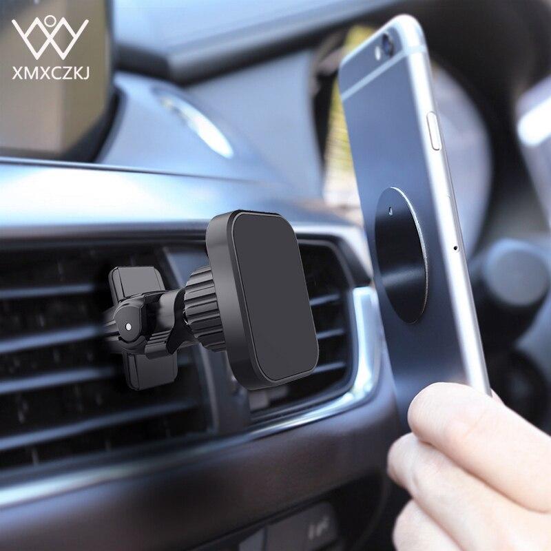 XMXCZKJ universel Twist-Lock évent support de voiture magnétique pour Iphone 11 support de voiture de téléphone magnétique pour support Xiaomi dans la voiture
