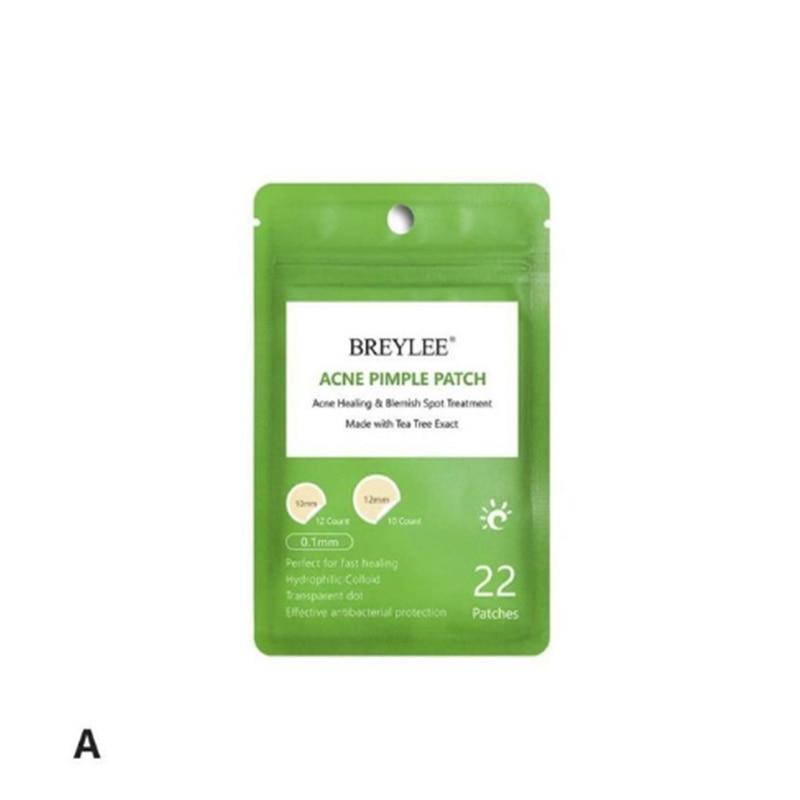 Parche adhesivo BREYLEE para quitar el acné, 22 ranuras, Anti acné, Mee-eter, Puistje, pegatina de Behandeling, máscara Facial Huidverzorging