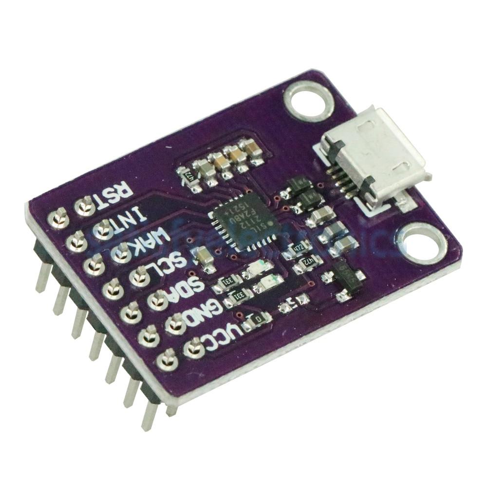 CP2112 Debug Board USB to I2C Communication Module 2.0 Micro USB 2112 Evaluation Kit For CCS811 Sensor Module