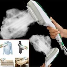 1 pièces Machine à suspendre à main Mini Portable brosse à vapeur tissu blanchisserie tissu brosse à rides vapeur électrique vapeur fer à vapeur