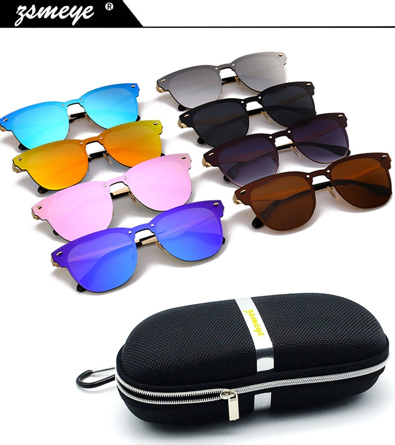 ZSMEYE 2018 New Fashion Traveller Style Rivets 3576 Sunglasses Men Women Brand Design Quality Metal Sun Glasses Oculos De Sol