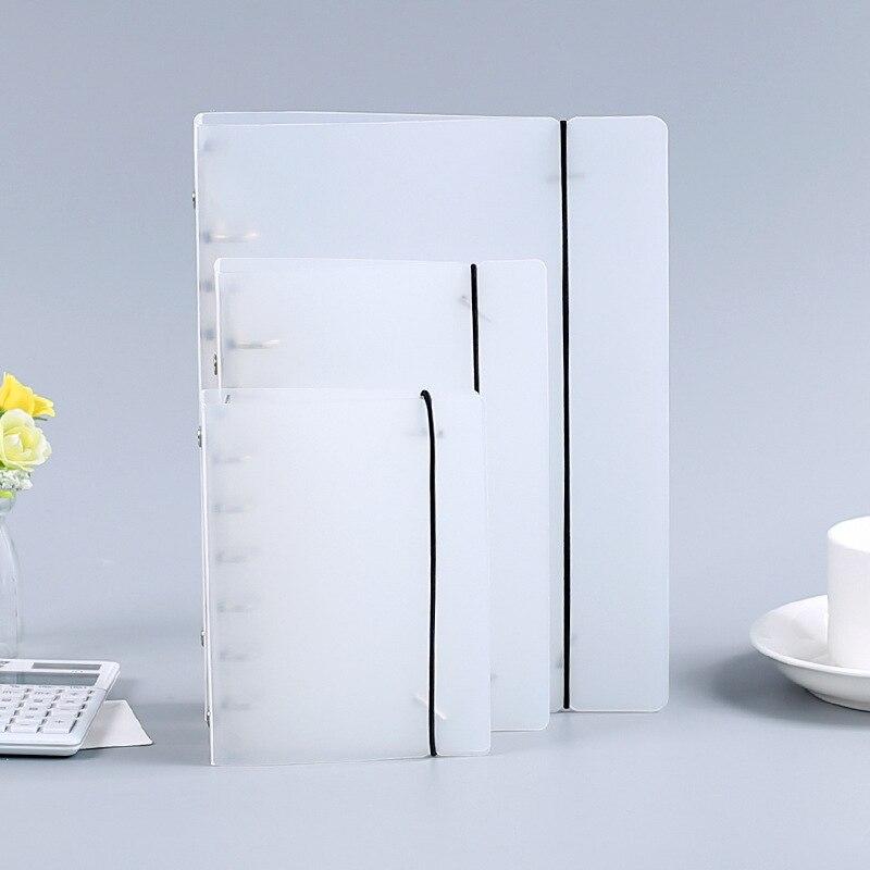 Matte binder loose strap loose leaf inner core A5 A6 A7 planner folder notebook bullet journal planner binder office supplies
