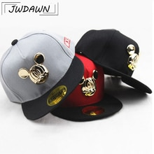 Cartoon Mickey Ear Hats Caps Baby Accessories For Kids Hats Caps 2018 Hot Sale Cute Baseball Cap Hip Hop Boy Hats Caps 2-8Y