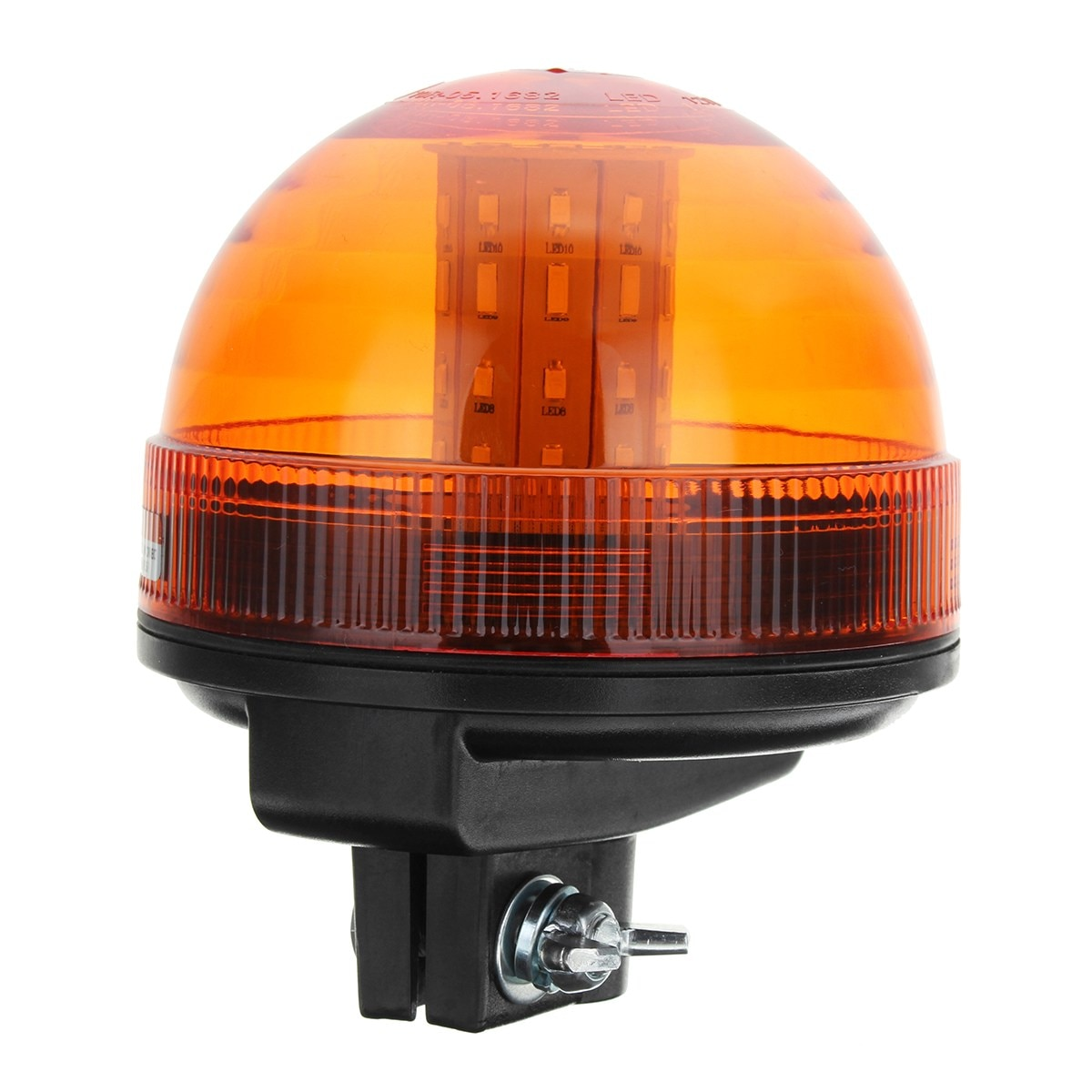 40 LED Rotating Flashing Amber Beacon Flexible Tractor Warning Light Roadway Safety