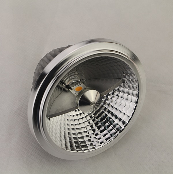 Doble viruta 30 nuevo foco LED AR111 13w 70W equivalente halógeno, COB AR111 GU10/E27/G53 bombillas LED