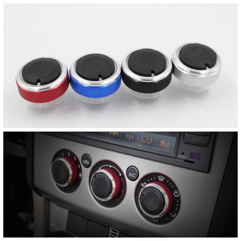 Ручка кондиционера для автомобиля, 3 шт./компл., переключатель регулировки тепла, наклейка для Ford Focus 2 MK2 3 MK3, аксессуары для mondeo