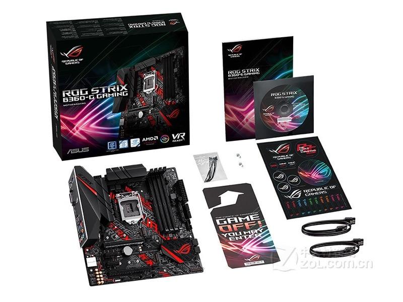 New ASUS Motherboard  Player Country ROG STRIX B360-G GAMING B360 LGA 1151 DDR4 Micro ATX mainboard