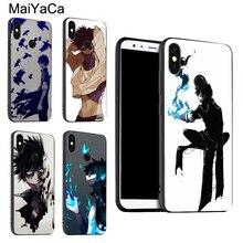 Чехол MaiYaCa Dabi My Hero academic для Xiaomi Redmi Note 8 7 9 Pro K30 9S 8T 7A 8A Mi 9 A3 9T 10 Pro Max3 Mix3