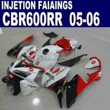 Kit de route de moulage par injection   Pour Honda Konica Minolta CBR600RR 600RR 2005 2006 CBR 600 RR 05 06 7 cadeaux + capot