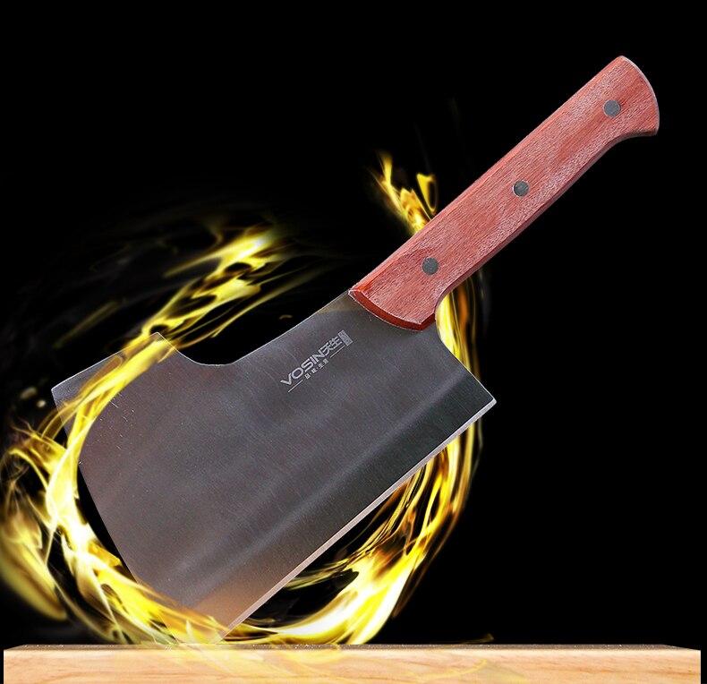 Cuchillos de cocina de acero inoxidable, utensilios de cocina, cuchillos para deshuesar, cortar carne, cortar melón, cortar fruta, pelar en hotel