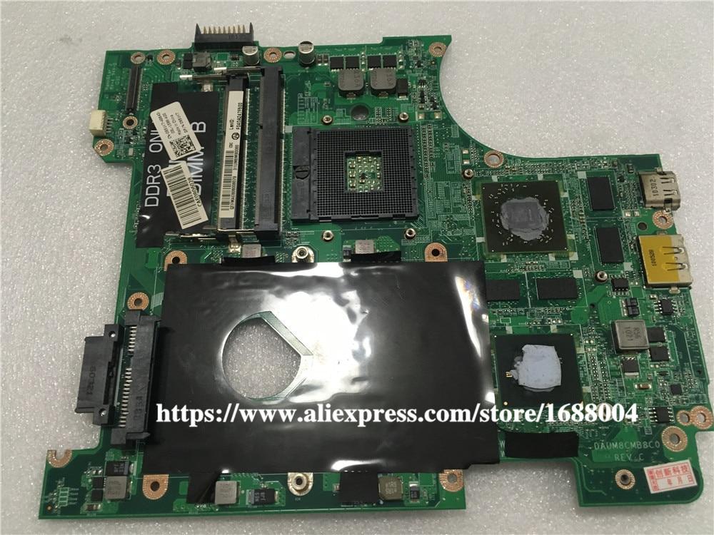 Para la placa base del ordenador portátil Inspiron 14r N4010 Hm57 placa base 0951K7 951K7 DAUM8CMB8C0 y tarjeta gráfica HD 5650