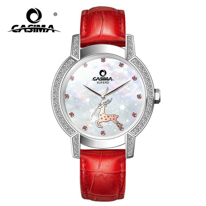 ساعات يد نسائية فاخرة من Relogio Feminino CASIMA ساعة معصم كوارتز غير رسمية مقاومة للمياه موضة للسيدات 2021 Reloj Mujer