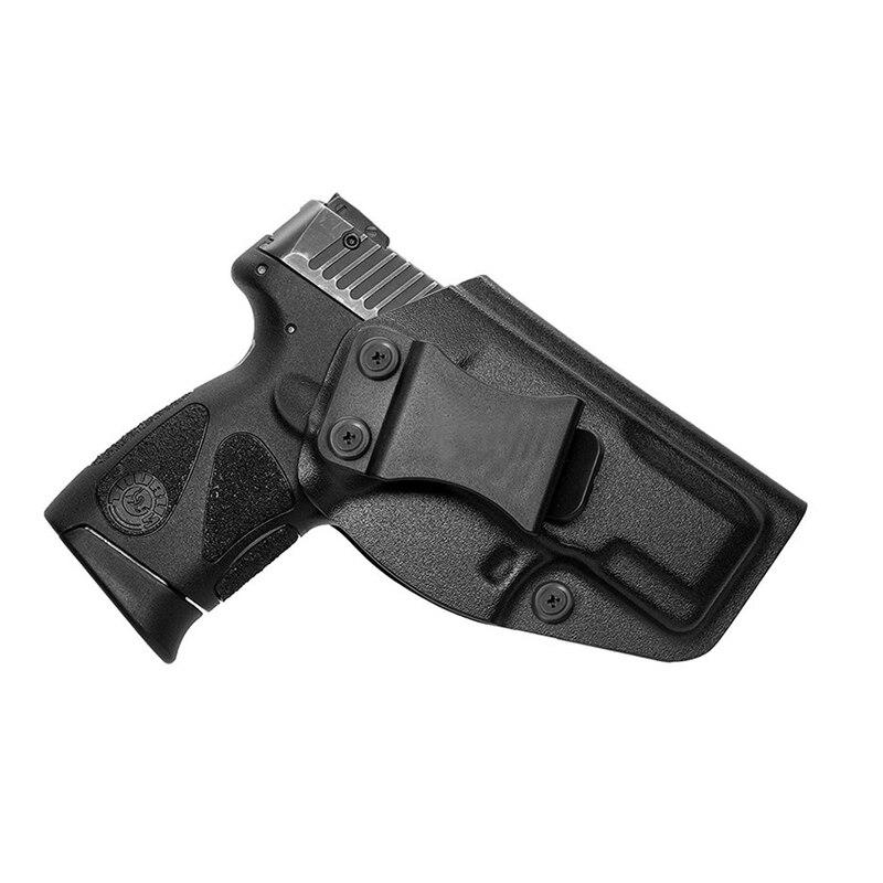 Funda Kydex IWB para Taurus G2C Millennium G2 PT111/PT140 dentro de la cintura funda de transporte oculta 9mm pistola