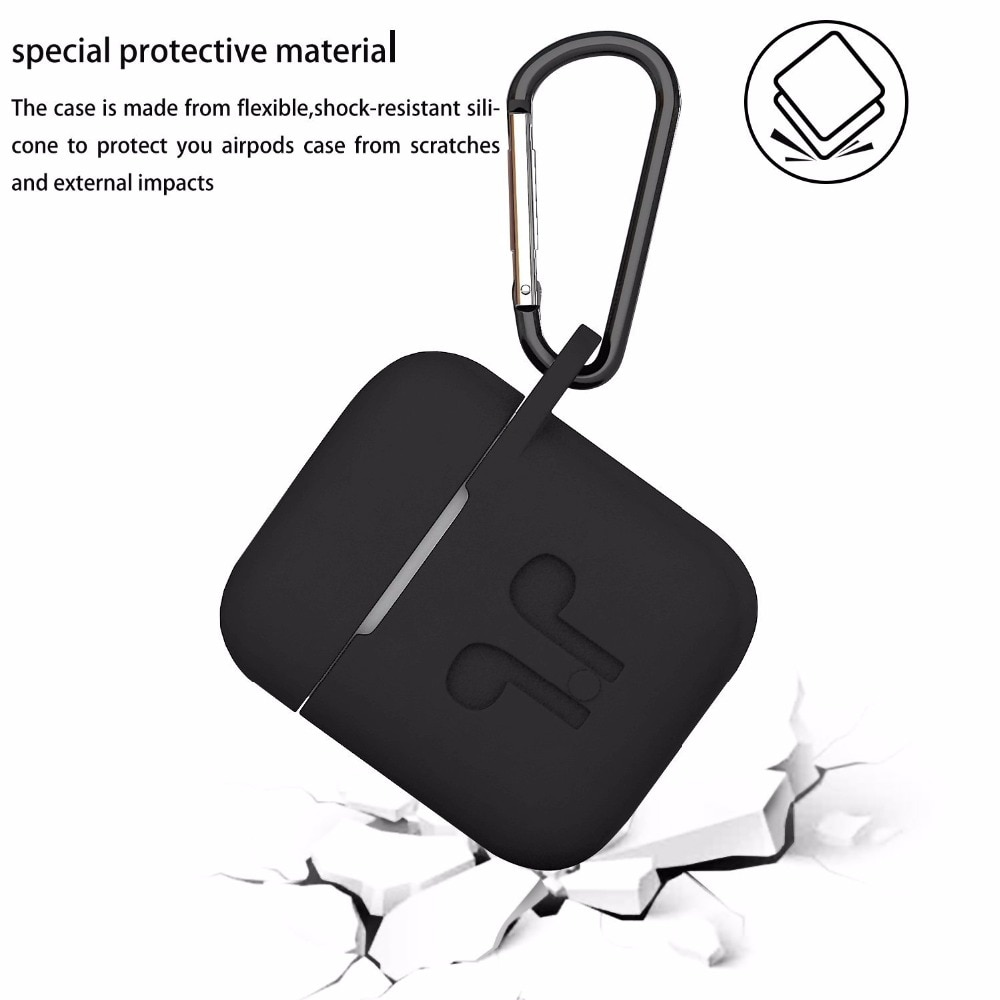 Duszake TA8 Ear Hook For Airpods Accessories Silicone Ear Cover For Air Pods Case For Airpods Accessories For Air Pods enlarge