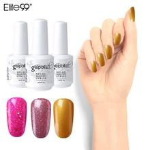 Elite99 15 ml vernis à ongles longue durée imbiber Gel vernis UV & lampe à LED vernis à ongles bricolage Gel vernis à ongles manucure Art outils